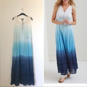 Tommy Bahama dip dye maxi dress Size Small